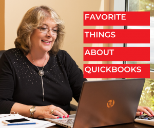 Favorite Things About QuickBooks - Bookkeeping Confidential, full-service virtual bookkeeping firm for small businesses and startups.
