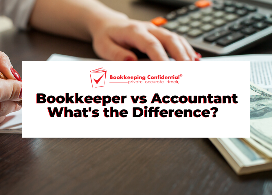 Bookkeeper vs Accountant_ What's the difference?