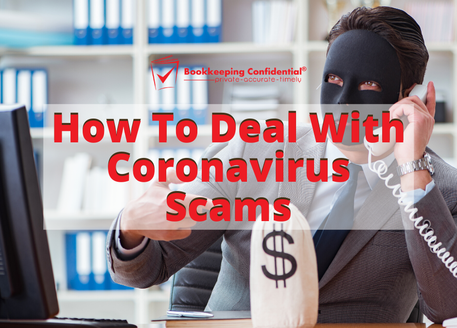 How To Deal With Coronavirus Scams