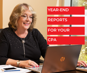 Year-End Reports For Your CPA - Bookkeeping Confidential, full-service virtual bookkeeping firm for small businesses and startups.