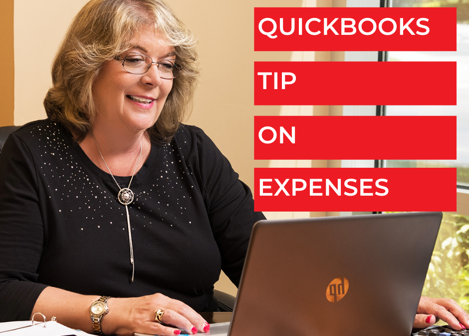 QuickBooks Tip On Expenses - Bookkeeping Confidential, full-service virtual bookkeeping firm for small businesses and startups.