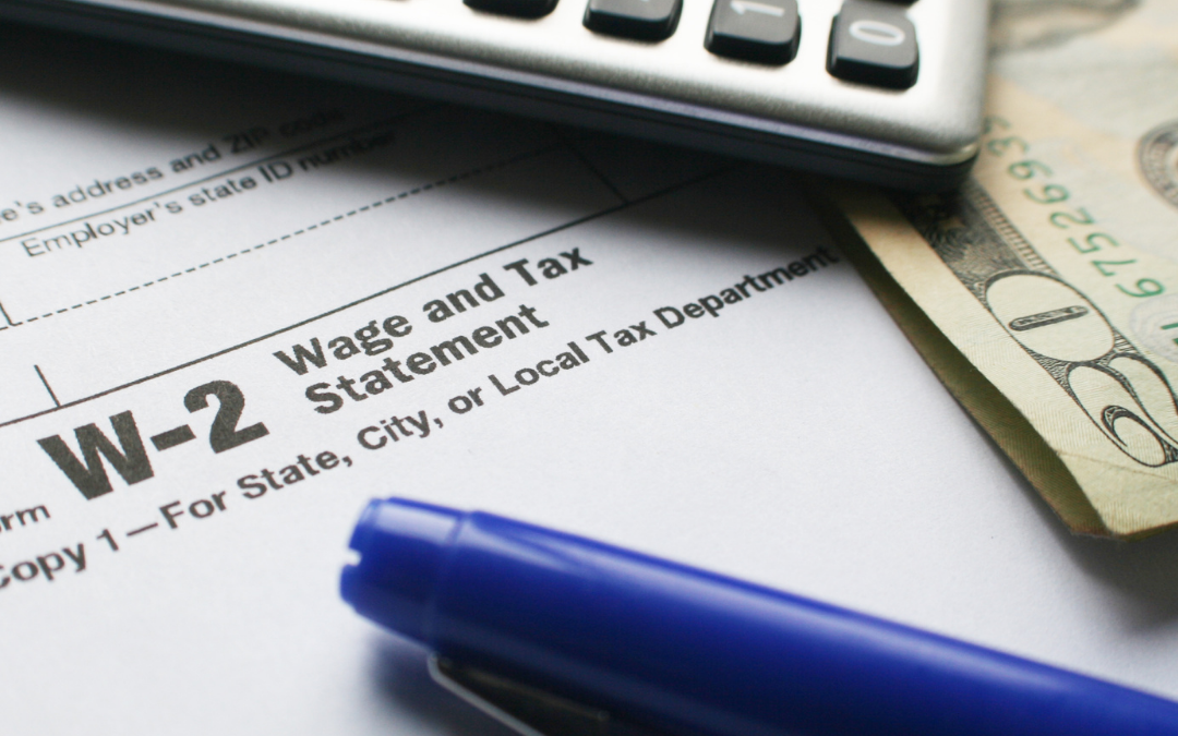 Preparing Your W-2 Forms For Tax Season
